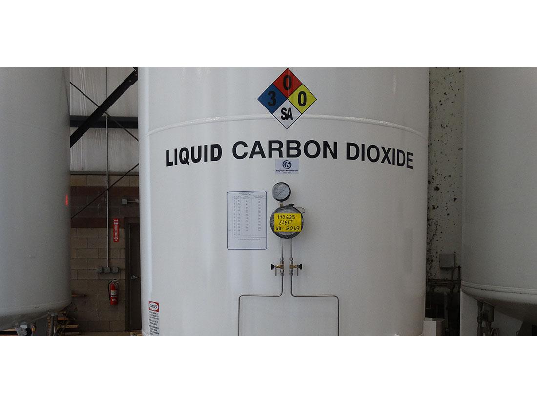 Taylor-Wharton CO2 tank